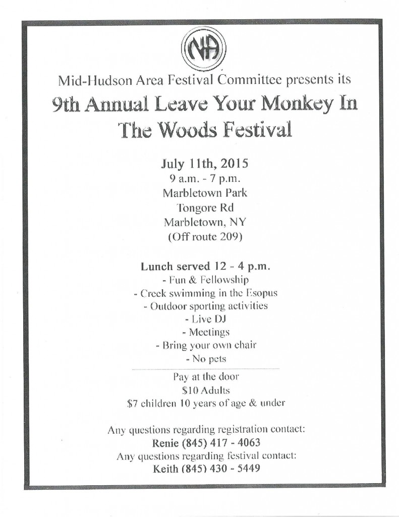 9th Annual Leave Your Monkey In The Woods Festival @ Marbletown Park | Kingston | New York | United States
