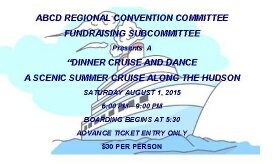 Dinner Cruise and Dance - ABCDRNA Convention Committee Fundraising Subcommittee