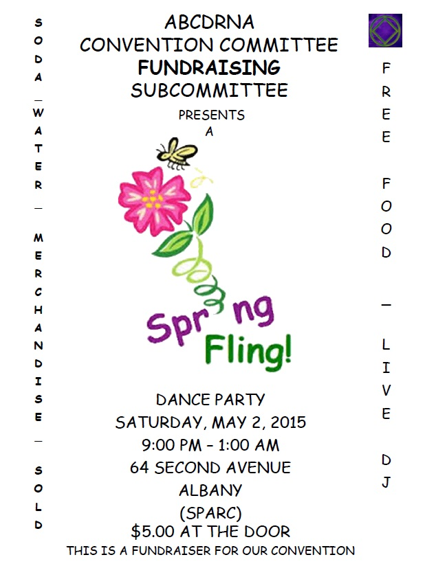 Spring Fling Dance Party - ABCDRNA Convention Committee Fundraising Subcommittee @ SPARC   Albany   New York   United States
