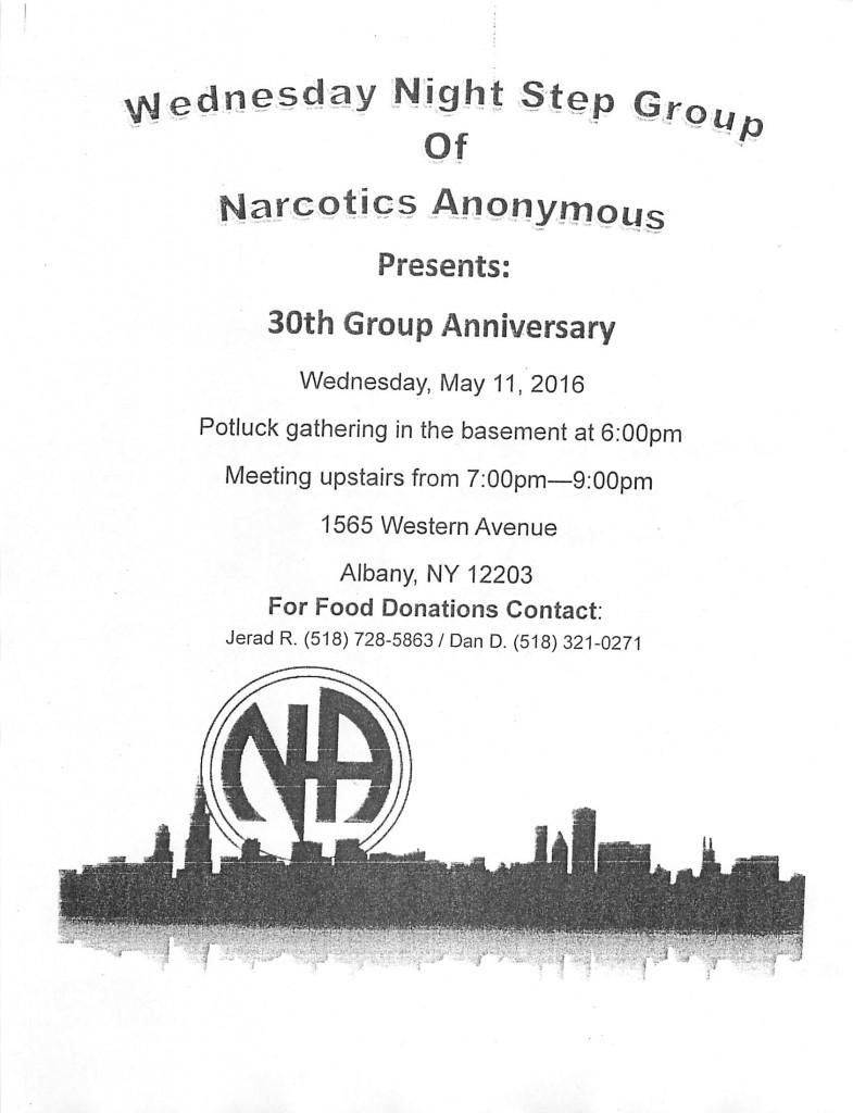 Wednesday Night Step Group 30th Anniversary @ Albany | New York | United States
