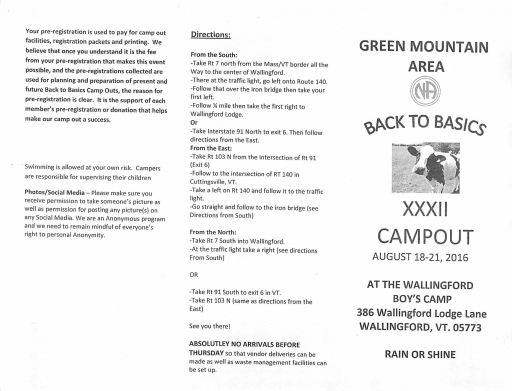 GMA // Back To Basics XXXII Campout @ see flyer | Bellmead | Texas | United States