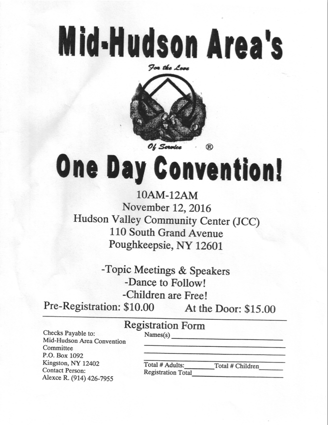 MHA's One Day Convention @ Poughkeepsie | New York | United States