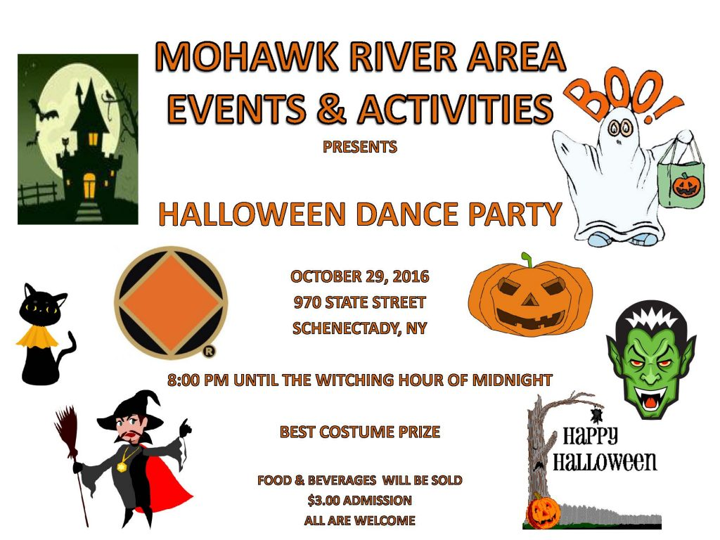 Halloween Dance Party // MRA E&A @ Schenectady | New York | United States