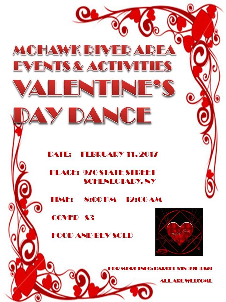 Valentine's Day Dance @ Schenectady   New York   United States