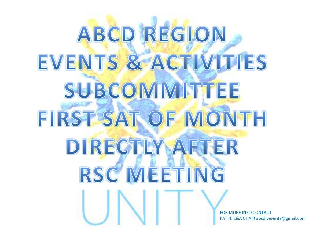 ABCD Region Events and Activities Subcommittee @ Albany | New York | United States