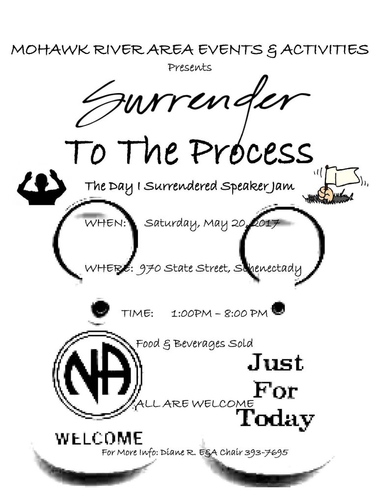Surrender to the Process Speaker Jam // MRA E&A Subcommittee