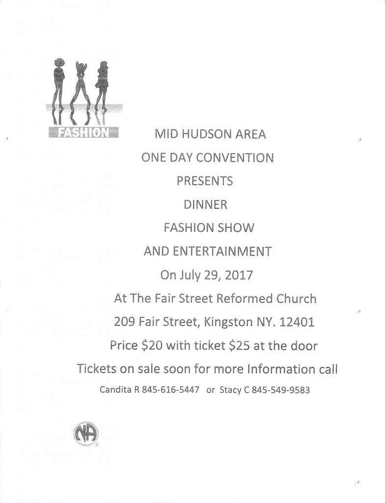 MHA One Day Convention // Dinner, Fashion show @ Kingston   New York   United States