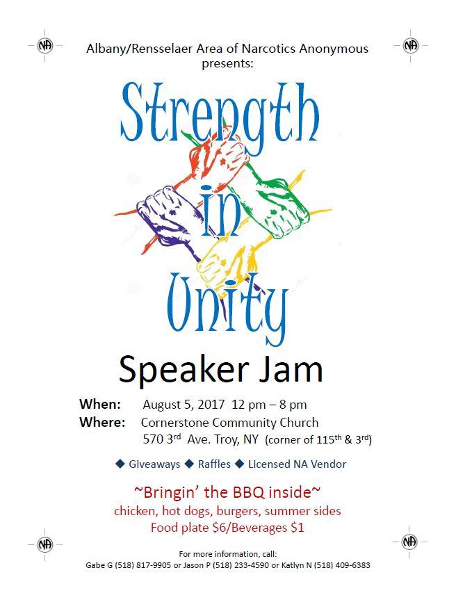 Strength In Unity Speaker Jam // ARANA @ Troy   New York   United States