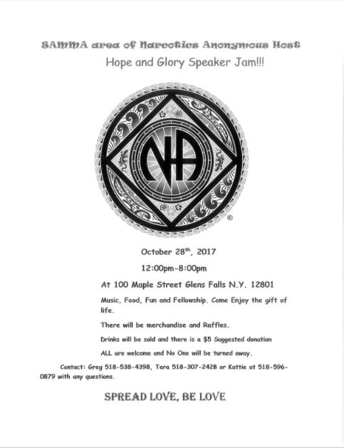 SAMMA // Hope and Glory speaker Jam @ Glens Falls | New York | United States