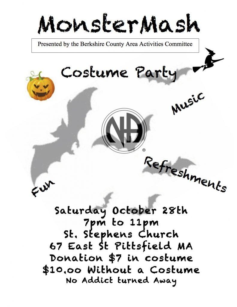 Monster Mash Costume Party // Berkshire Area Activities Committee @ Pittsfield   Massachusetts   United States