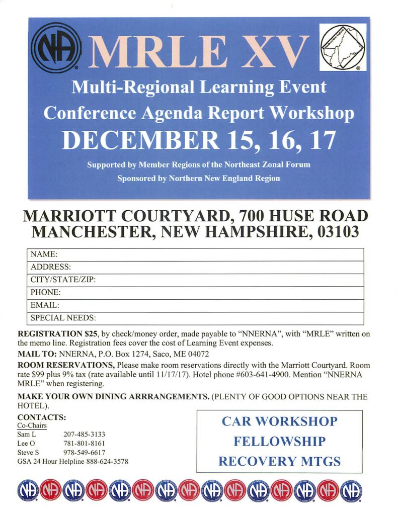 MRLE XV @ Manchester | New Hampshire | United States