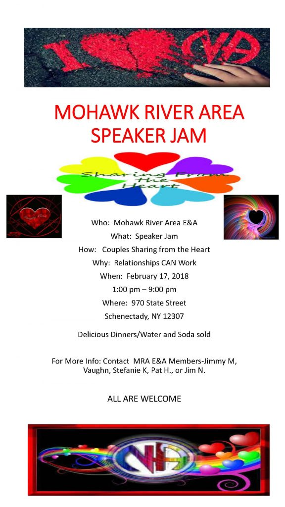 Sharing From The Heart Speaker Jam // MRA @ Schenectady | New York | United States