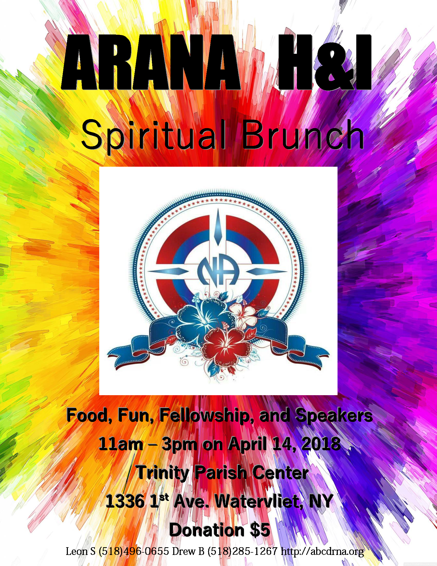 ARANA Hospitals and Institutions Spirituality Brunch @ Trinity Parish Center | Watervliet | New York | United States
